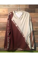 Atac Sportswear Broken Spoke Jersey DH Brown/Cream