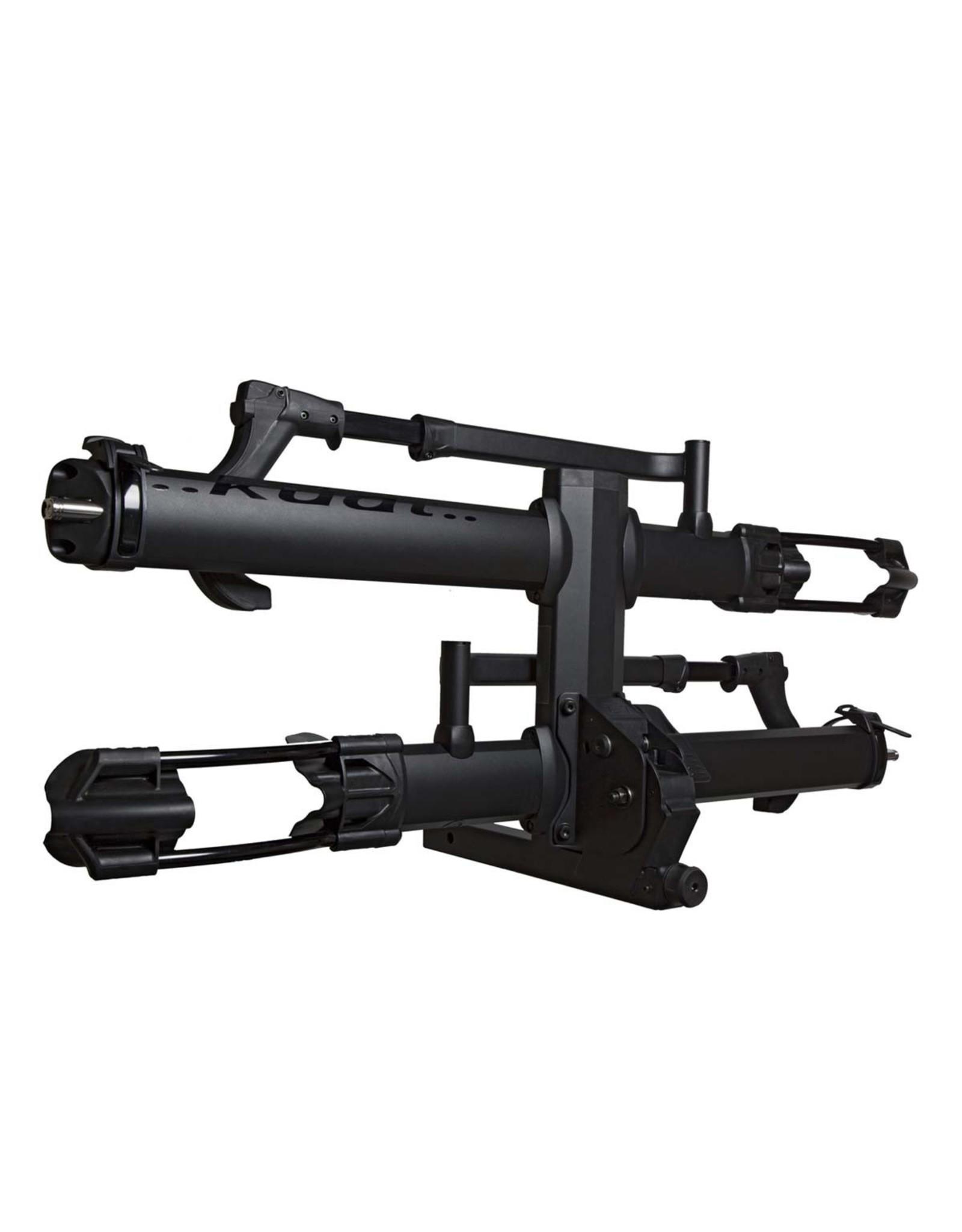 "Kuat Kuat NV 2.0 Base 2-Bike Tray Rack: Black, 2"" Hitch Receiver"