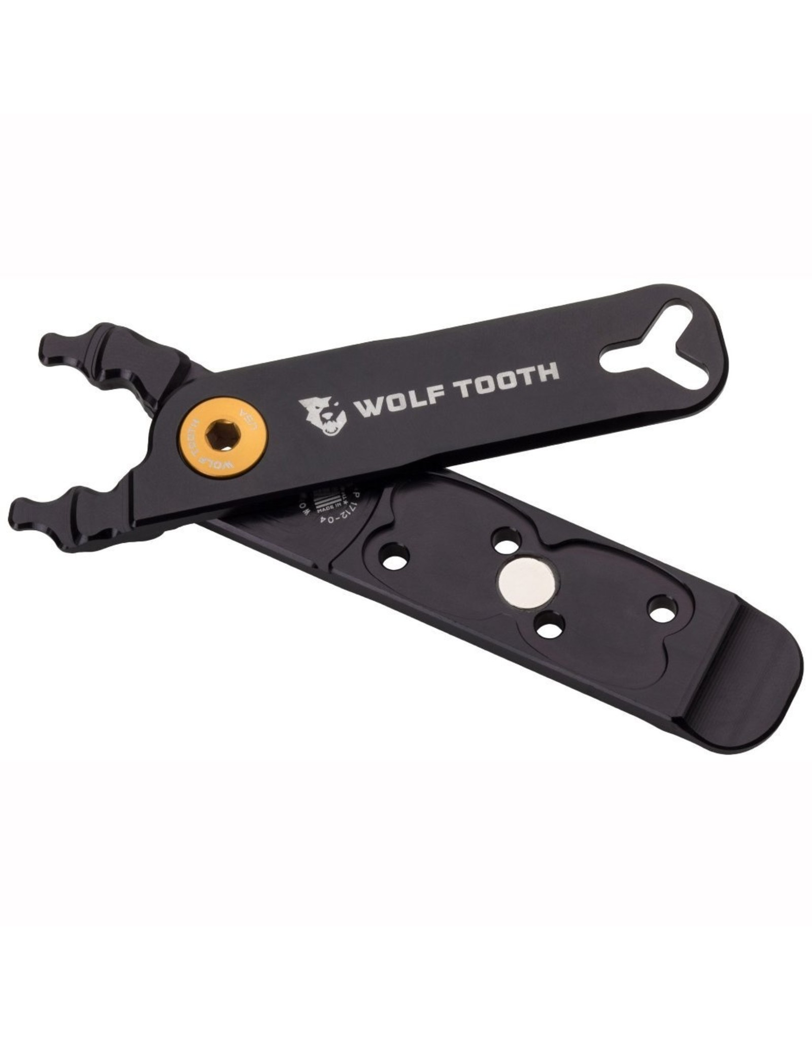 Wolf Tooth Wolf Tooth Master Link Combo Pliers, Black/Gold