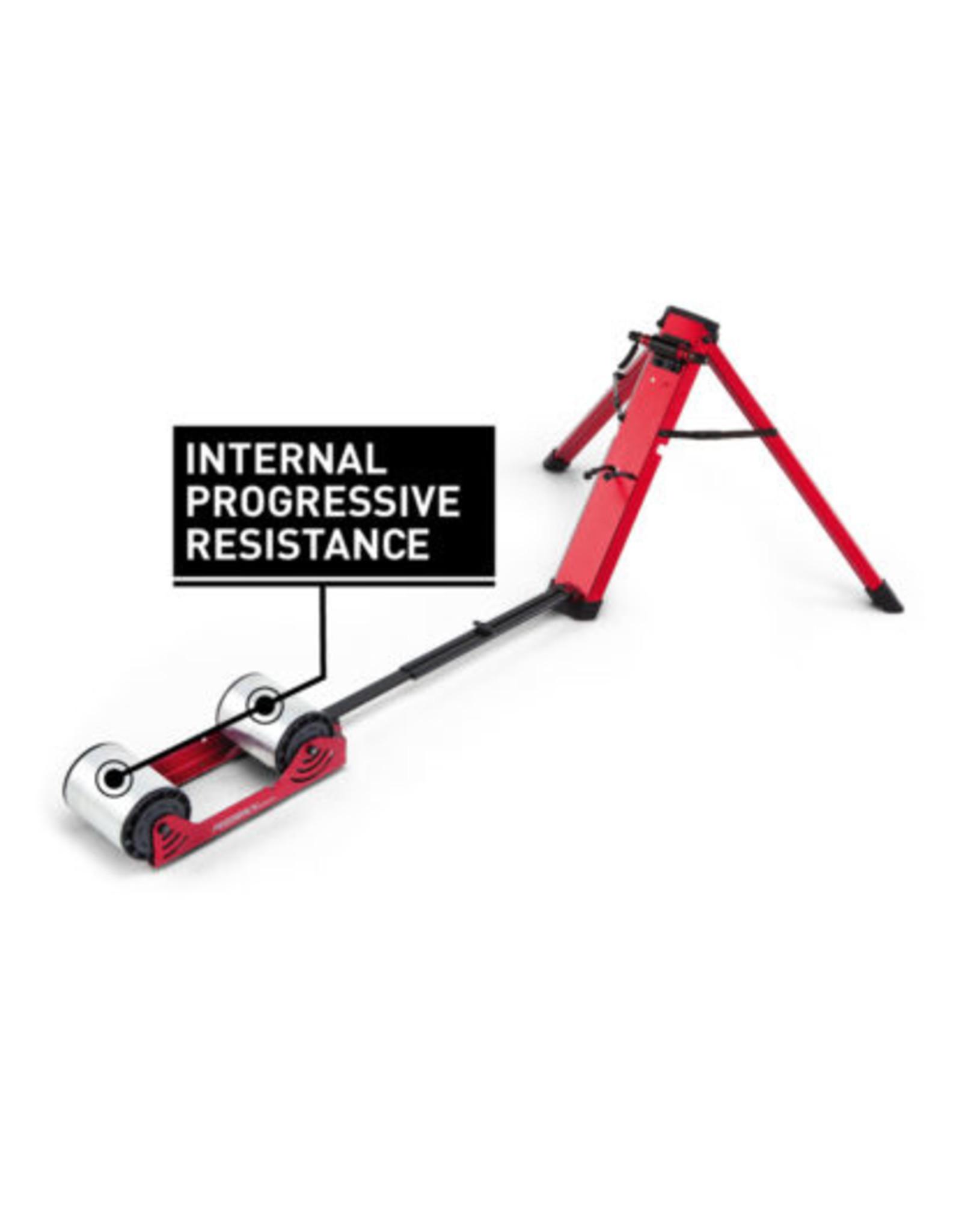 Feedback Sports Feedback Sports Omnium Over-Drive Rear Wheel Trainer - Fork Mount, Progressive Resistance, Red