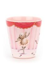 Jellycat Inc. Jellycat Elly Ballerina Melamine Cup