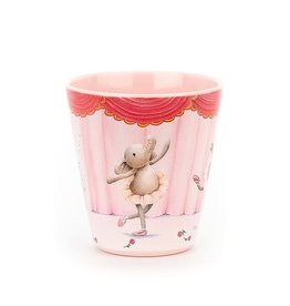 Jellycat Inc. Elly Ballerina Melamine Cup