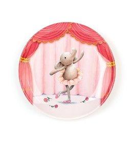 Jellycat Inc. Elly Ballerina Melamine Plate