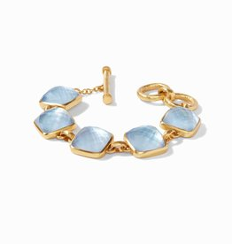 Julie Vos Julie Vos Catalina Chalcedony Stone Bracelet