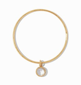 Julie Vos Julie Vos Fleur-de-Lis Bangle Medium