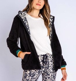 PJ Salvage PJ Salvage Ciao Bella Jacket Black