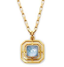 Julie Vos Geneva Pendant Necklace