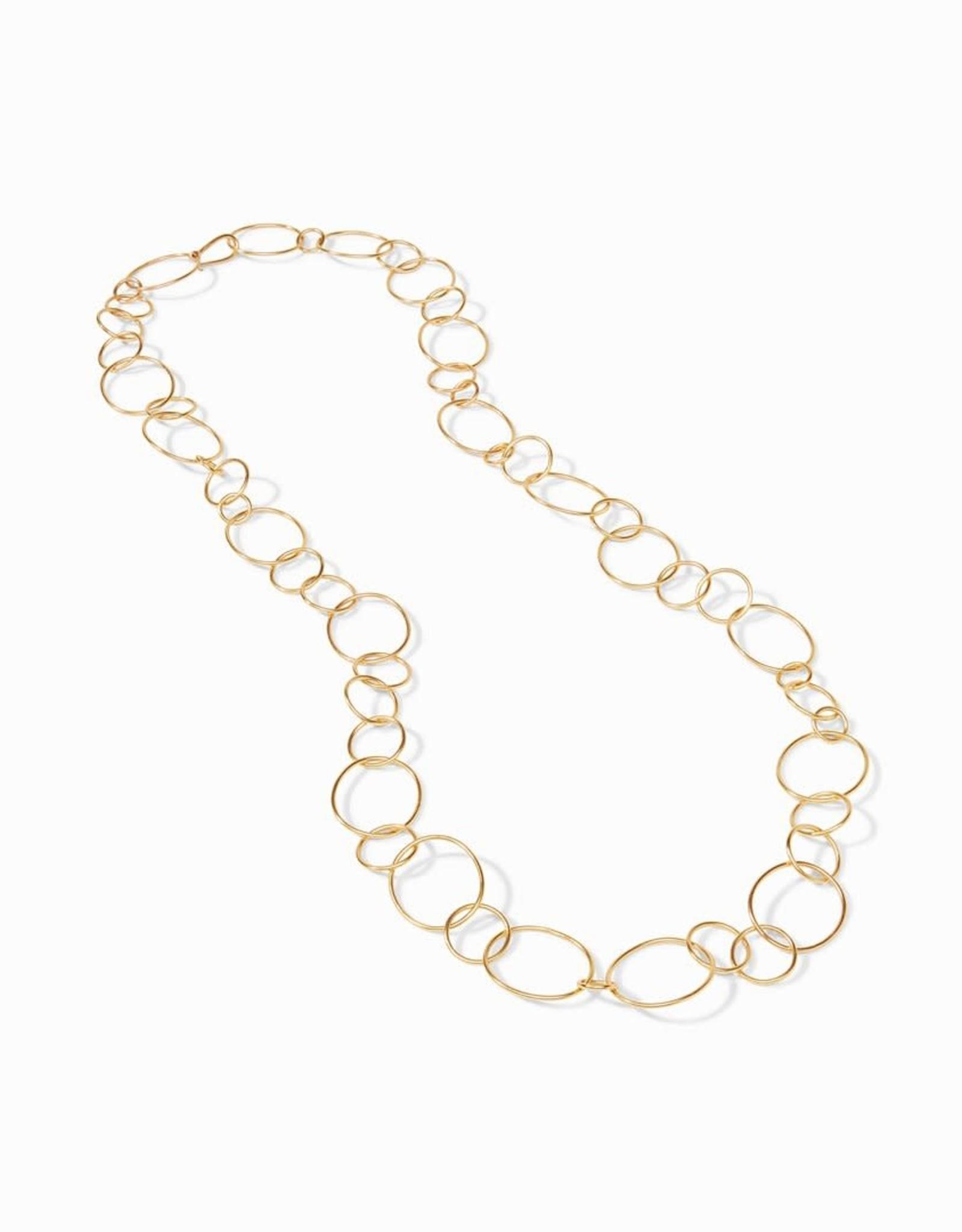 Julie Vos Julie Vos Colette Link Necklace Gold