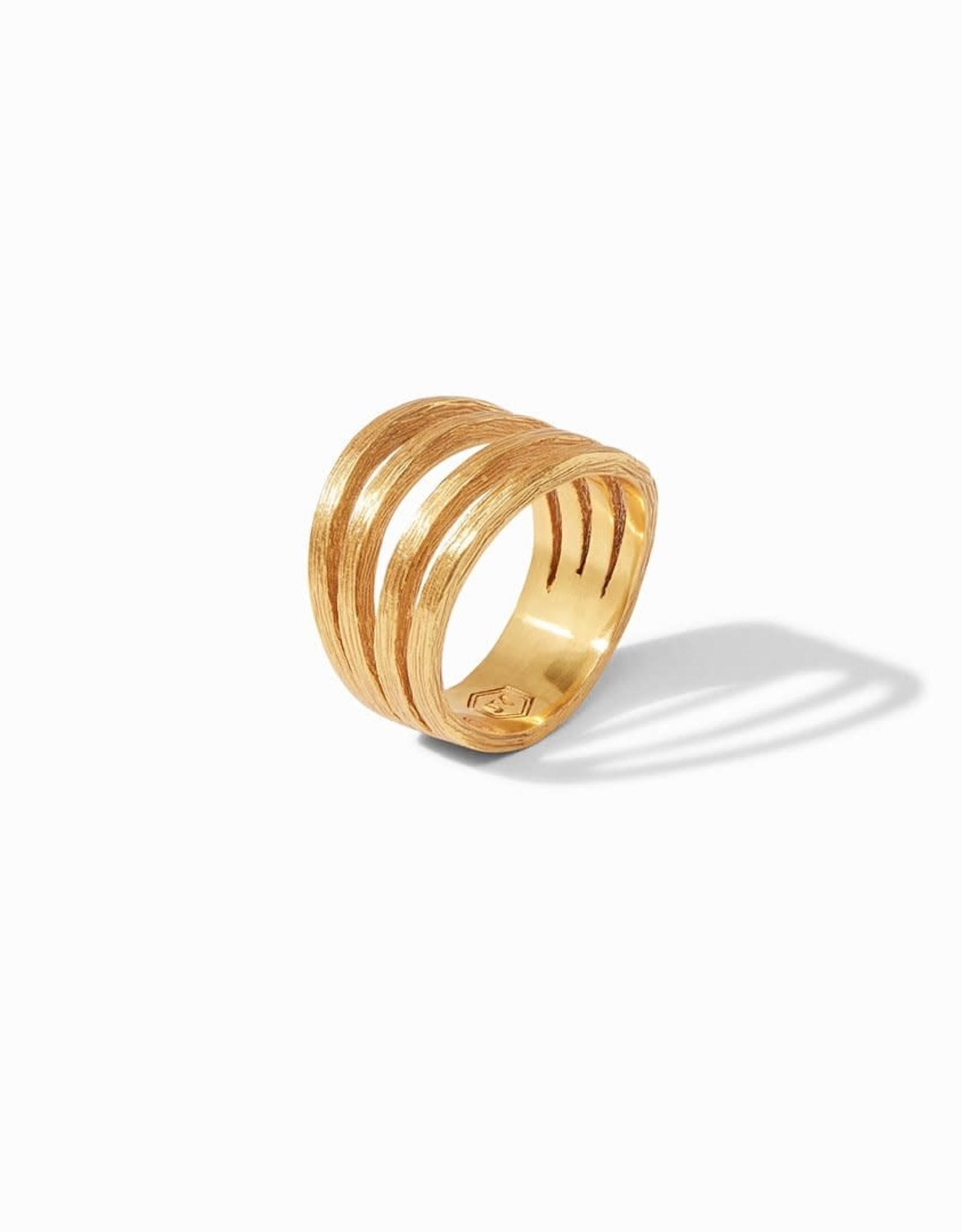 Julie Vos Julie Vos Aspen Statement Ring Gold
