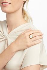 Julie Vos Julie Vos Revolving Coin Ring Black Onyx