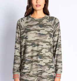 PJ Salvage PJ Salvage In Command Camo Long Sleeve Top