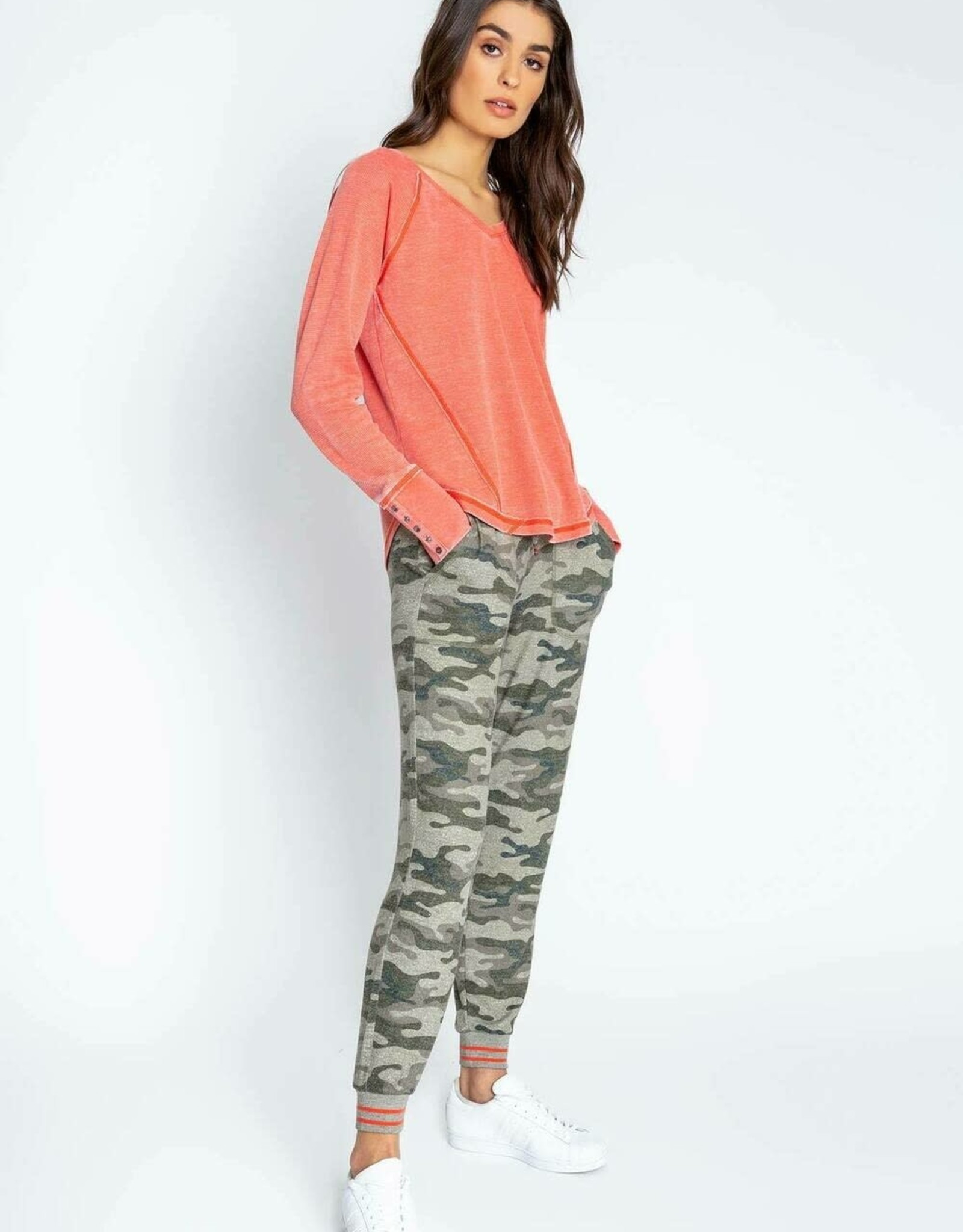 PJ Salvage PJ Salvage In Command Camo Banded Pant