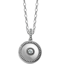 Brighton Brighton Twinkle Small Round Double Locket Necklace
