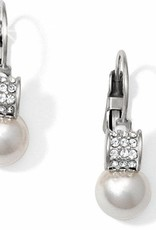Brighton Brighton Meridian Petite Pearl Leverback Earrings