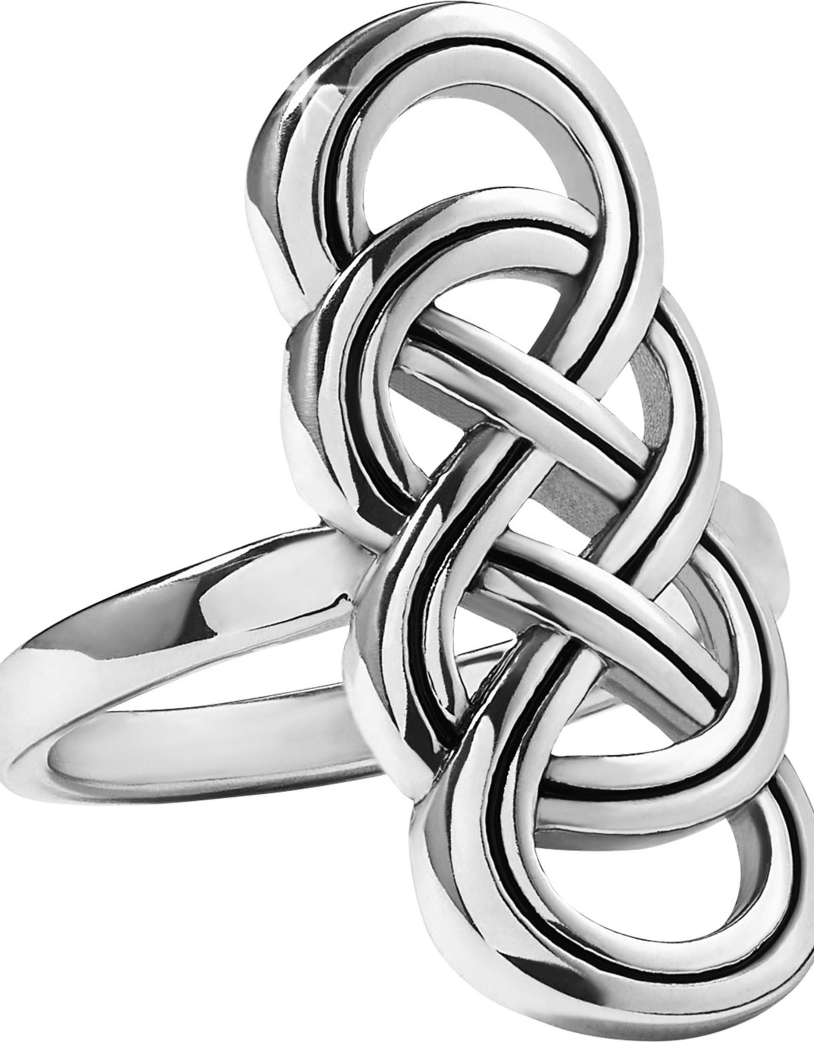 Brighton Brighton Interlock Braid Ring