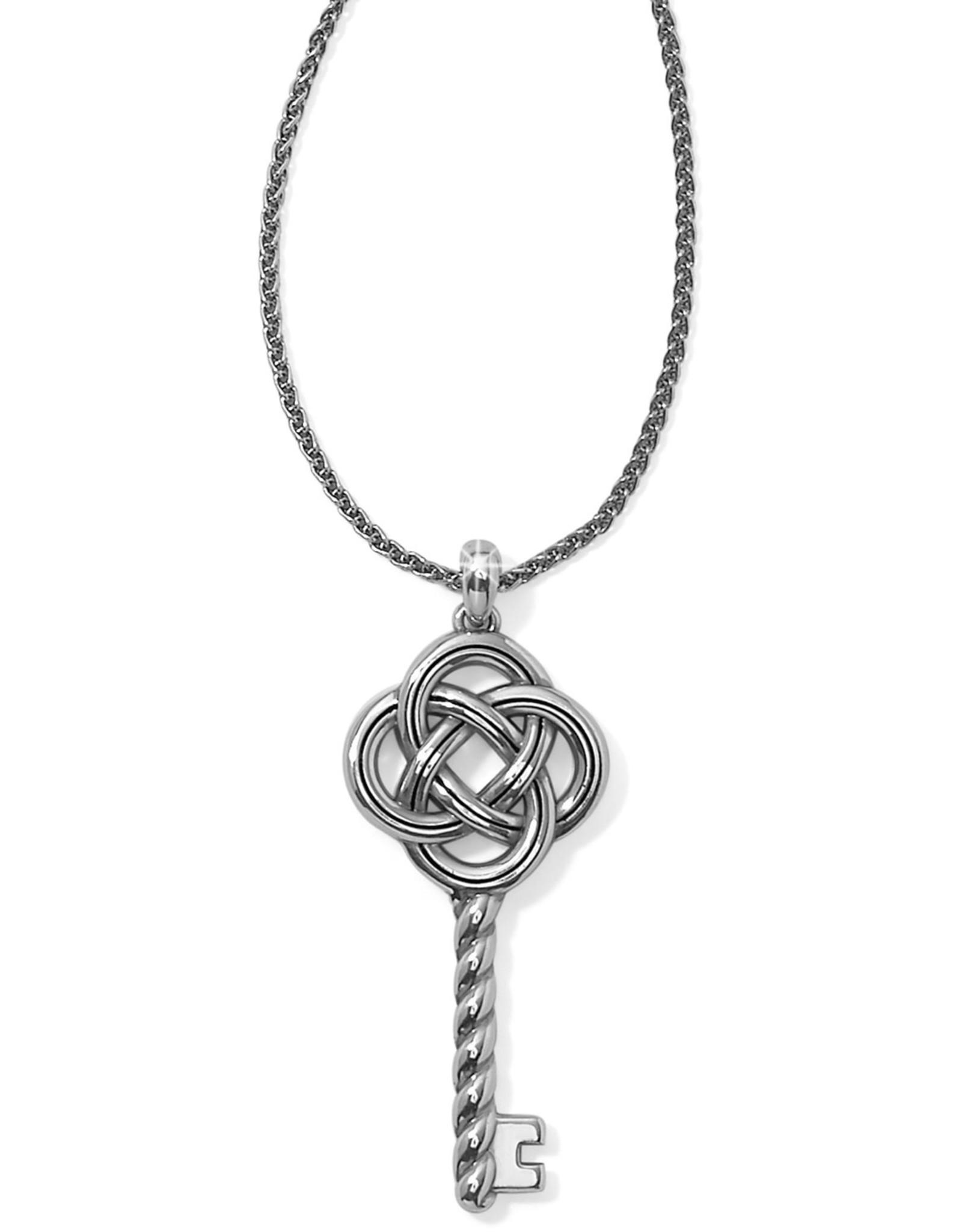 Brighton Brighton Interlock Large Key Necklace