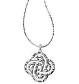 Brighton Brighton Interlock Spiral Statement Necklace