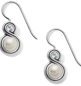 Brighton Brighton Infinity Pearl French Wire Earring