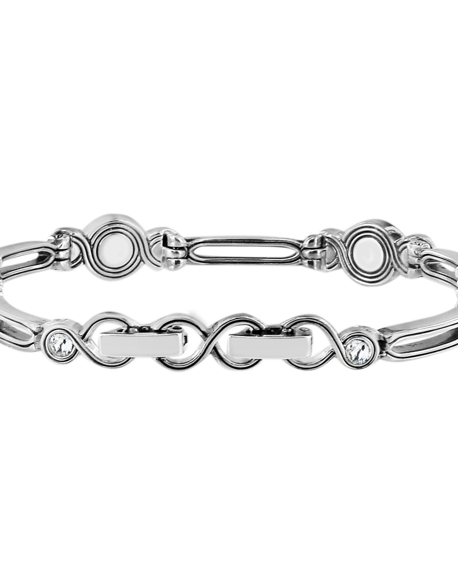 Brighton Brighton Infinity Pearl Bracelet