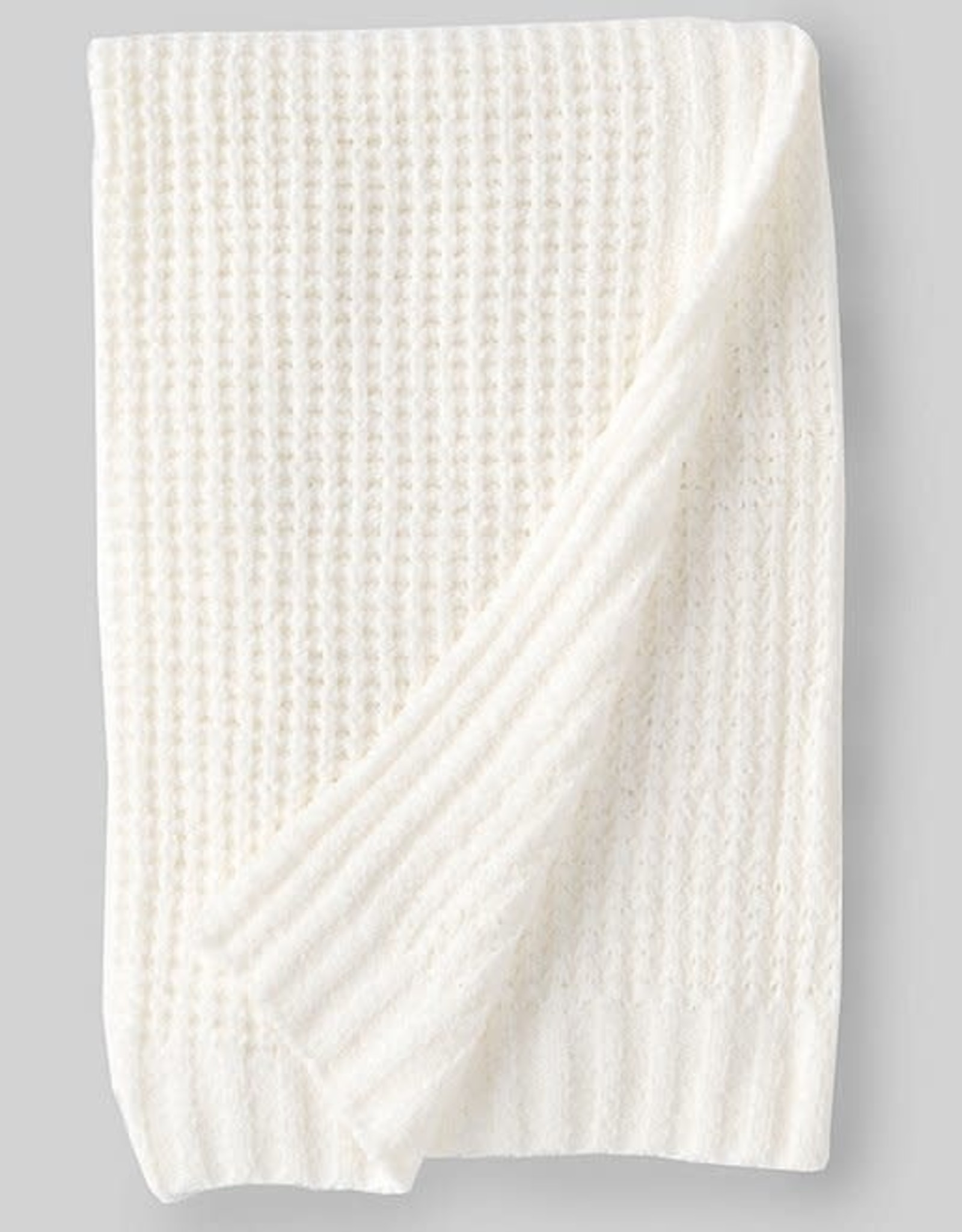 Barefoot Dreams Barefoot Drams Waffle Baby Blanket 30x32