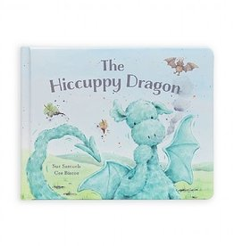 Jellycat Inc. Jellycat The Hiccuppy Dragon Book