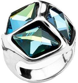 UNOde50 UNO de 50 Cube Cubed Ring