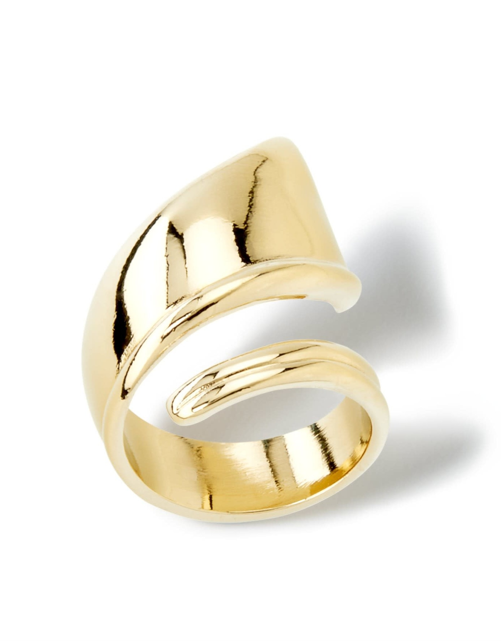 UNOde50 UNO de 50 Light As A Feather Ring Gold