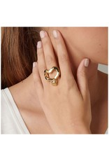 UNOde50 UNO de 50 Nailed Heart Ring Gold