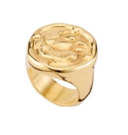 UNOde50 UNO de 50 Navy Ring