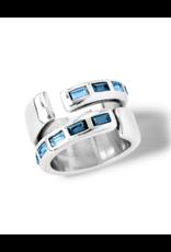 UNOde50 UNO de 50 Nightbird Wrap Ring