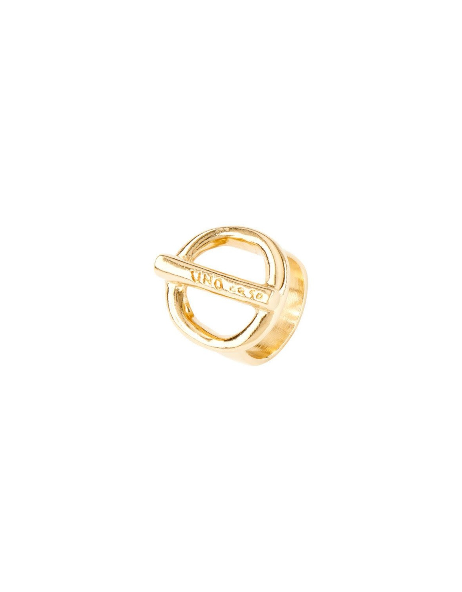 UNOde50 UNO de 50 On/Off Ring Gold
