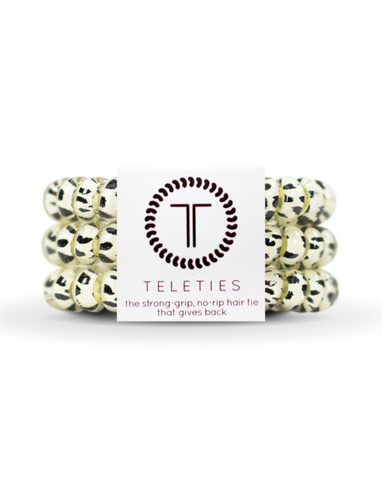 Teleties Teleties Large Snow Leopard