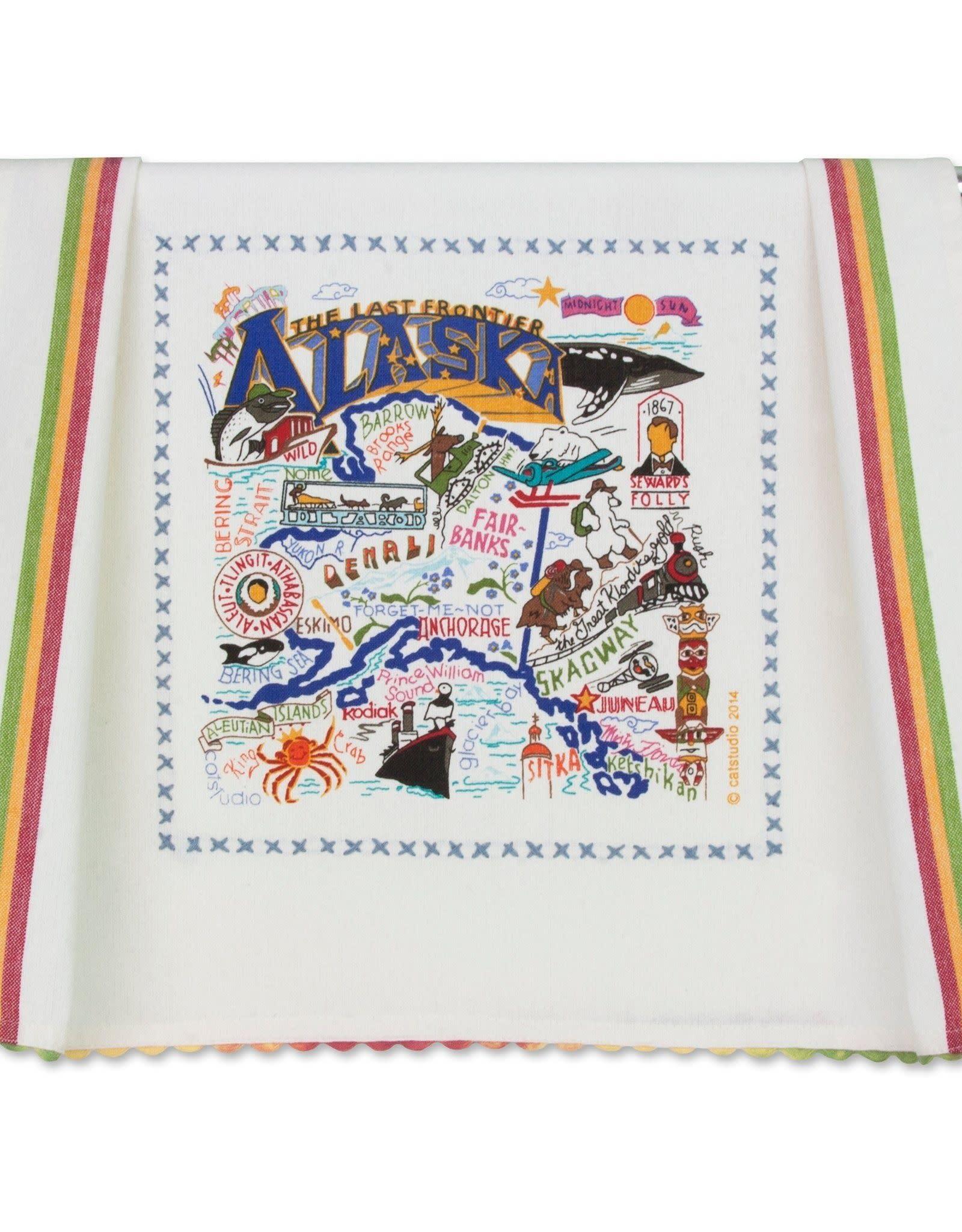 Catstudio Catstudio State Dish Towel Alaska