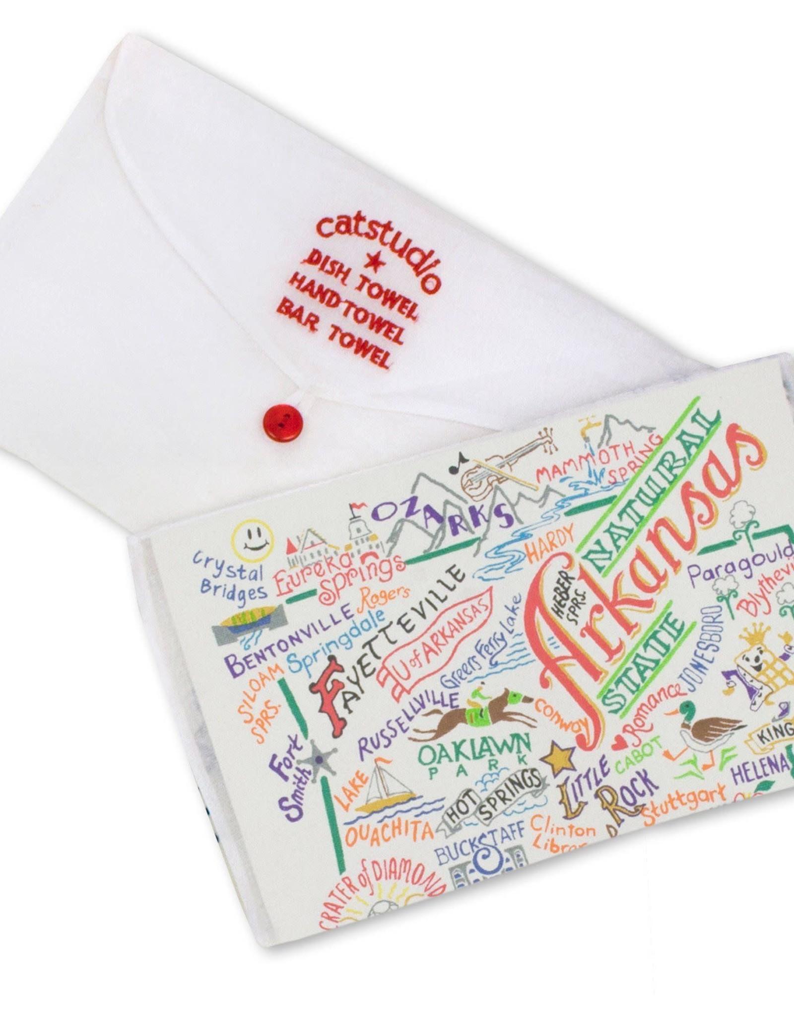 Catstudio Catstudio State Dish Towel Arkansas