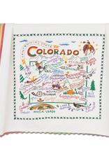 Catstudio Catstudio State Dish Towel Colorado