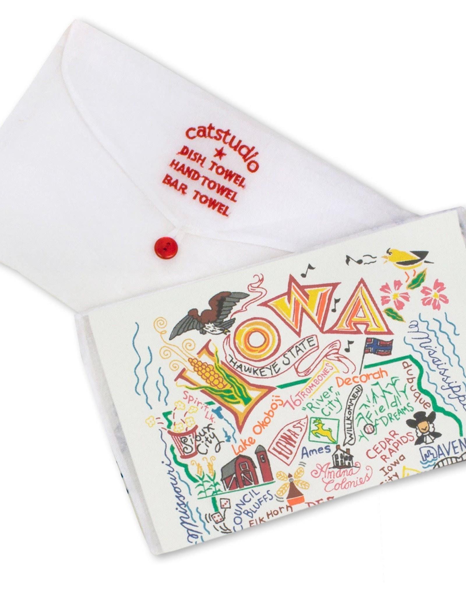 Catstudio Catstudio State Dish Towel Iowa