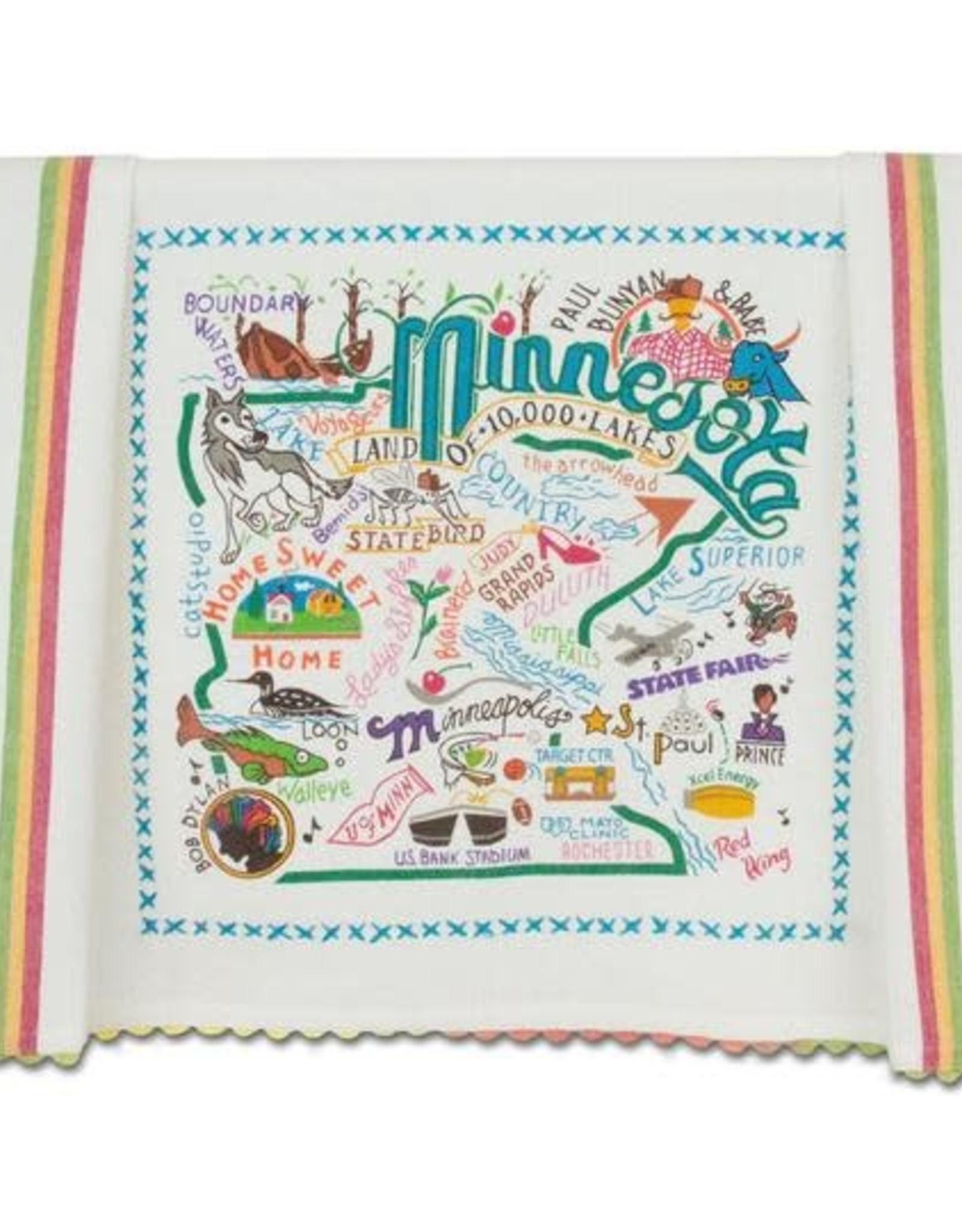 Catstudio Catstudio State Dish Towel Minnesota