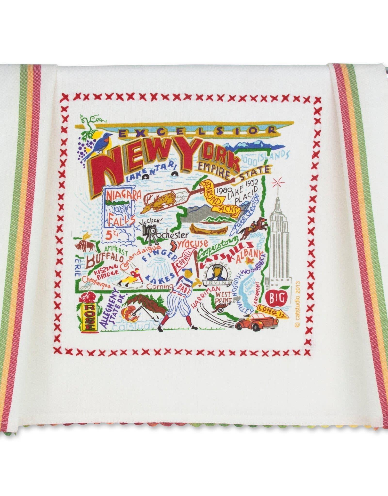 Catstudio Catstudio State Dish Towel New York