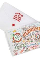 Catstudio Catstudio State Dish Towel Oklahoma