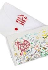 Catstudio Catstudio State Dish Towel Rhode Island