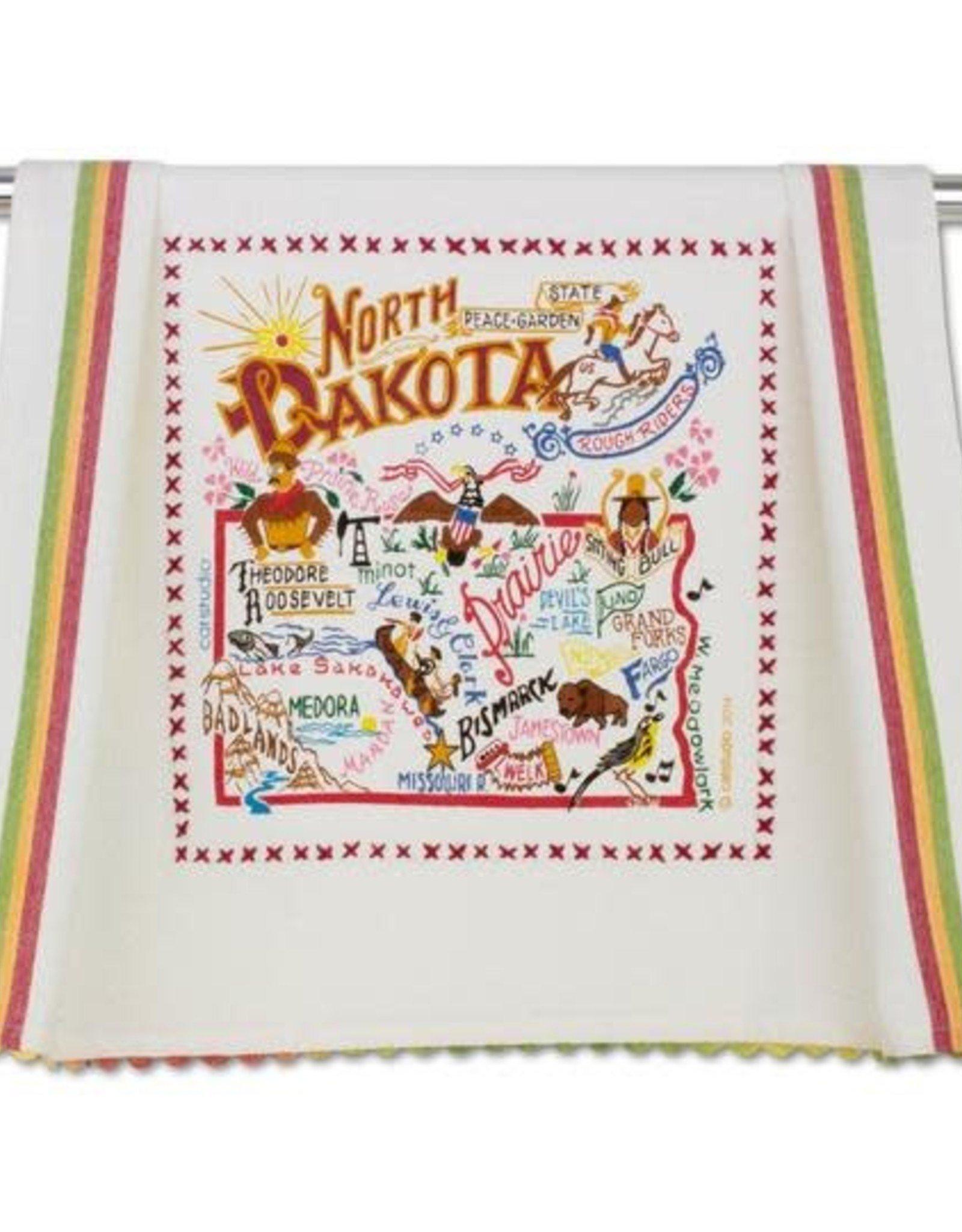 Catstudio Catstudio State Dish Towel North Dakota