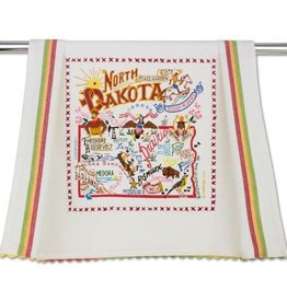 Catstudio Catstudio State Dish Towel North Dakota