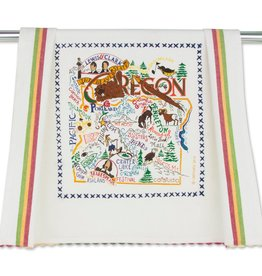 Catstudio Catstudio State Dish Towel Oregon