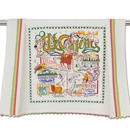 Catstudio Catstudio State Dish Towel Wyoming