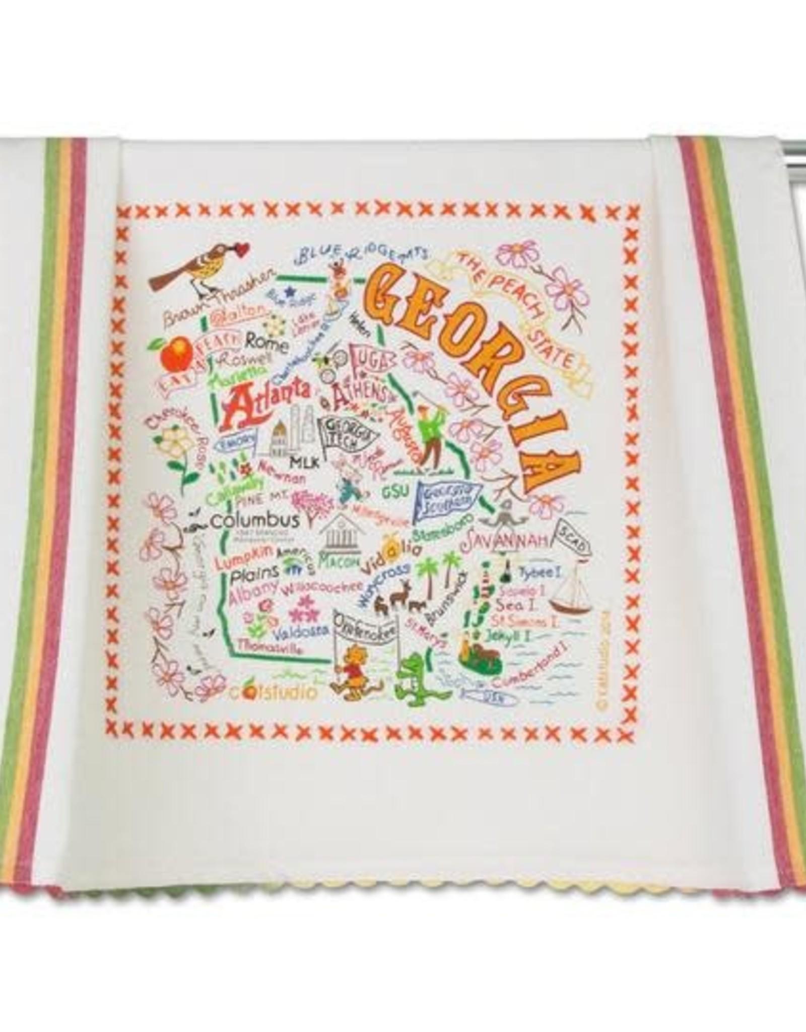 Catstudio Catstudio State Dish Towel Georgia