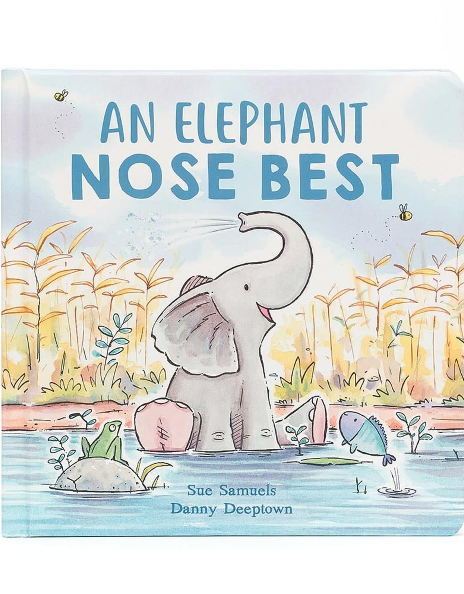 Jellycat Inc. Jellycat An Elephant Nose Best Book