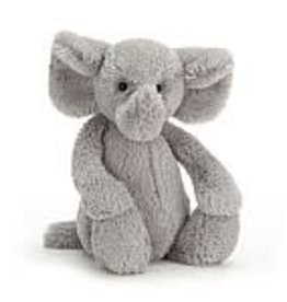 Jellycat Inc. Jellycat Bashful Silver Elephant Medium