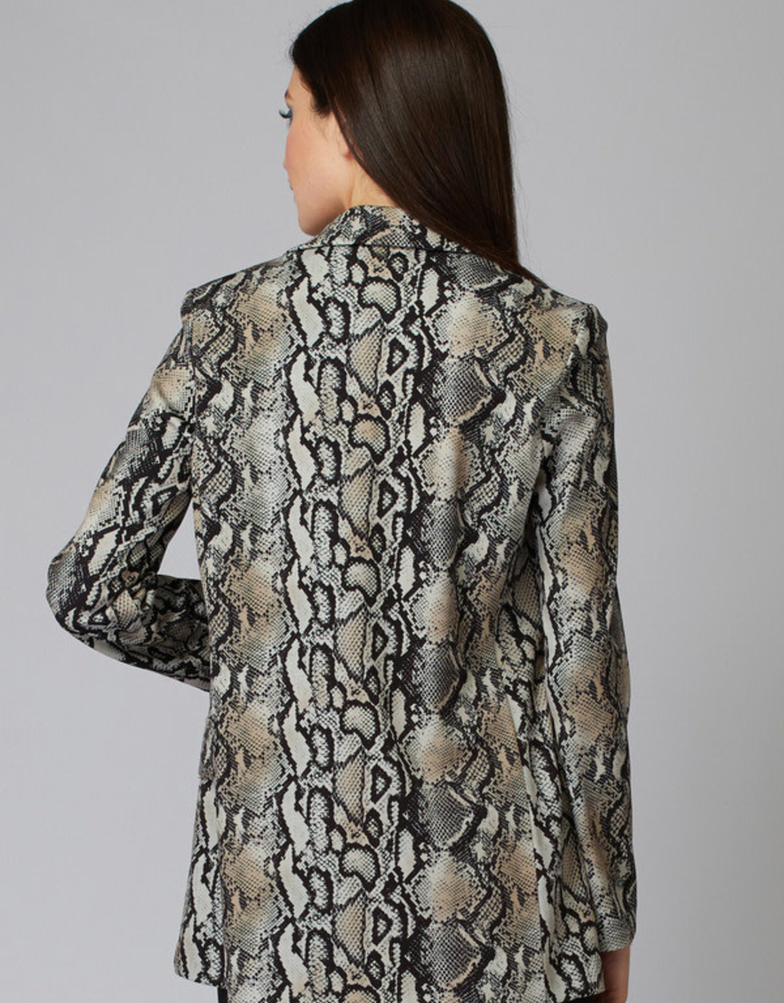 Joseph Ribkoff Snake Print Blazer