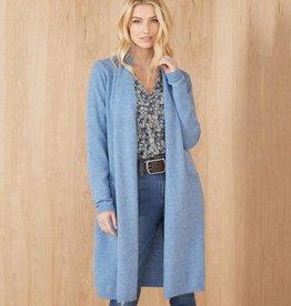 Karen Kane Blue Sweater Duster