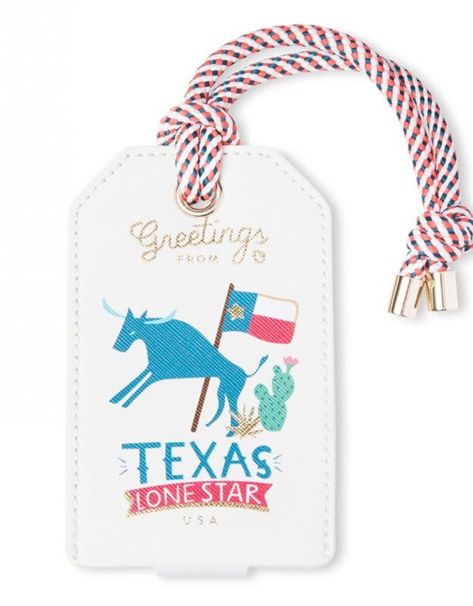 Spartina Spartina Texas Luggage Tag
